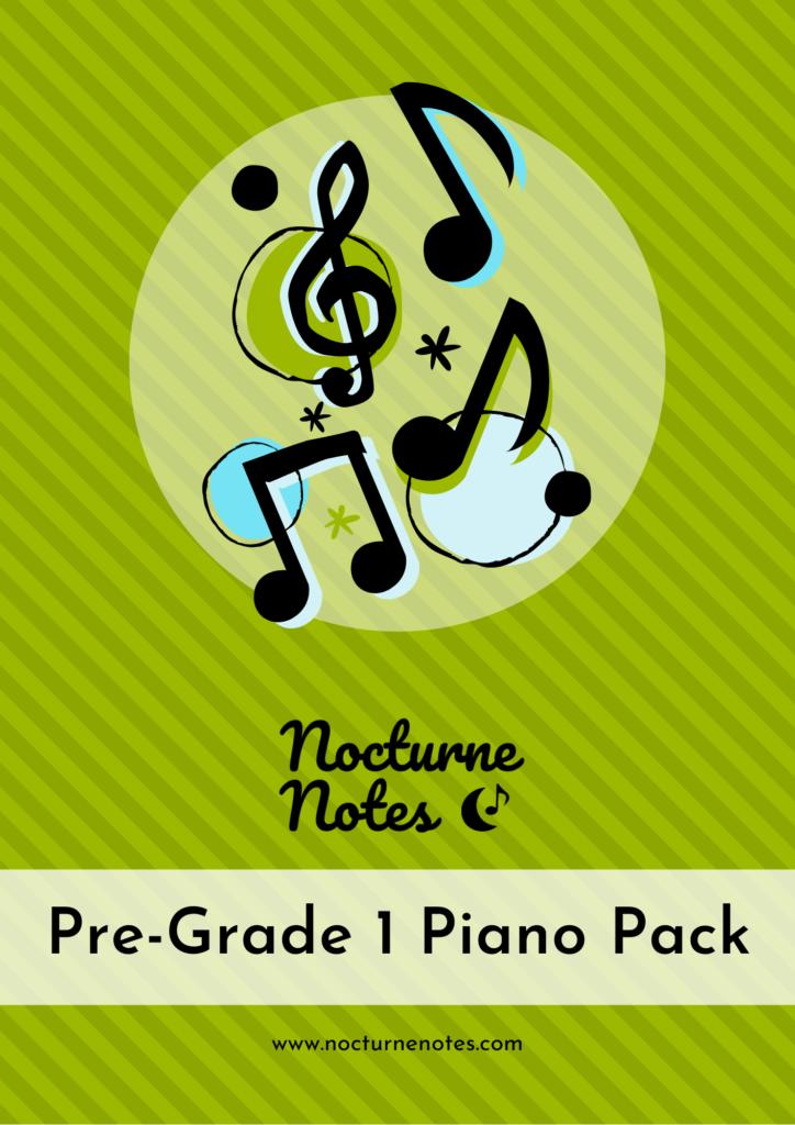 Pre-Grade 1 Piano Pack Cover