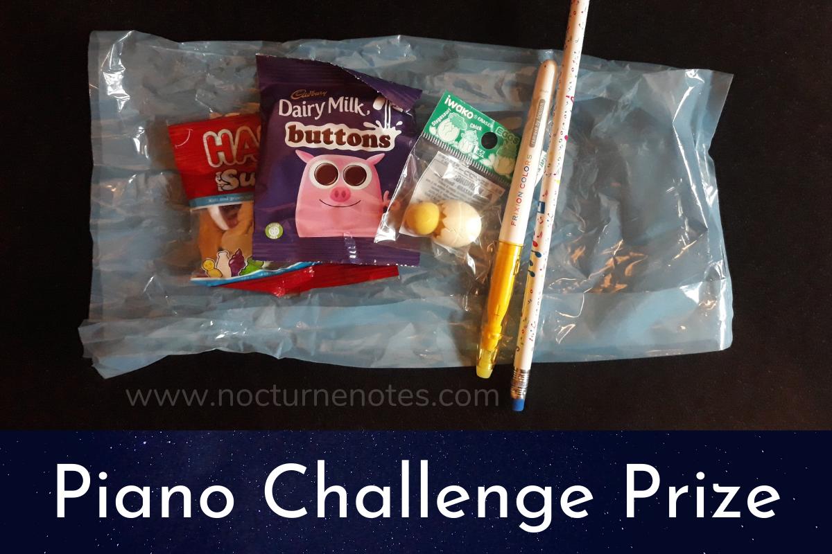 Piano Challenge Prize Idea