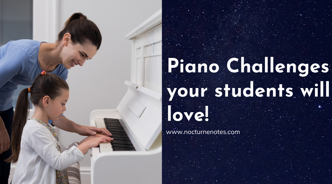 Piano Challenges Your Students Will Love!