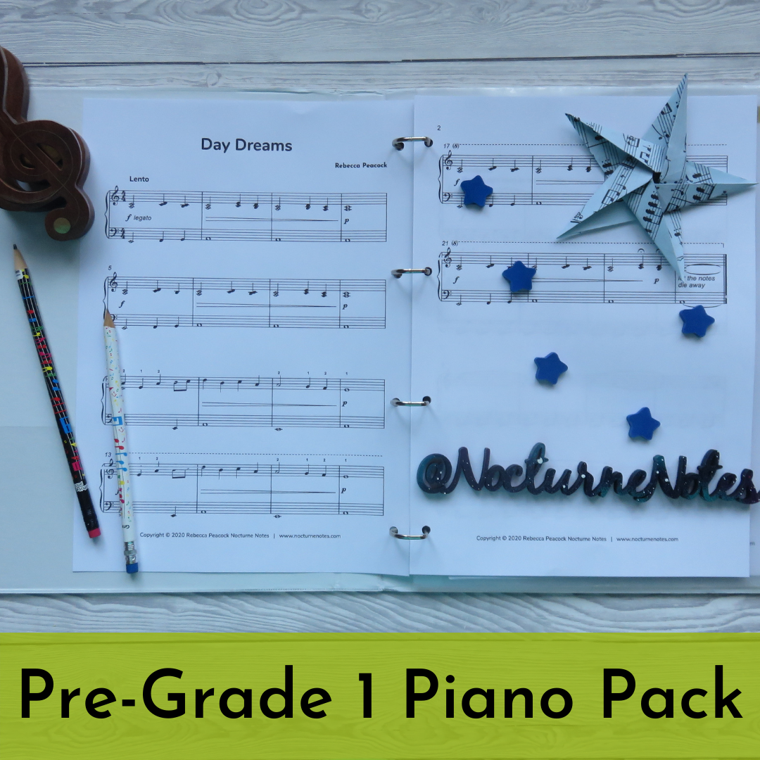 Pre-Grade 1 Piano Pack - Sheet Music
